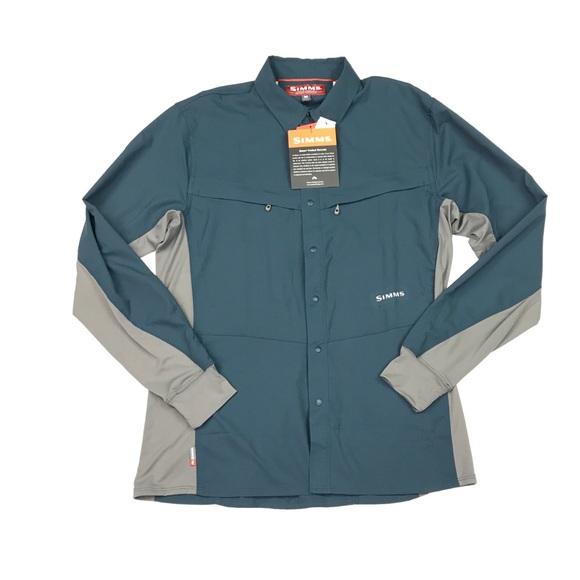 Simms Other - Simms Mens Intruder BiComp Long Sleeve Shirt Sz M